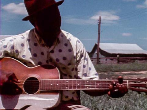 Napoleon Strickland, Blues Musician, Como, Miss 1972.